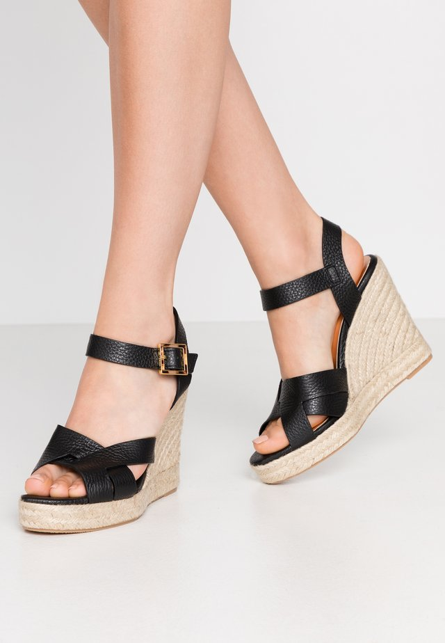 SELLANA - High heeled sandals - black