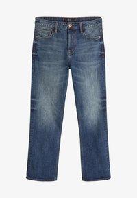 Bootcut jeans - dirty denim