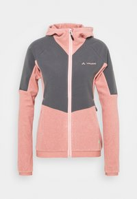 WOMENS YARAS HOODED JACKET - Fleece jacket - dusty rose