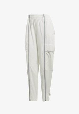 PERFORMANCE TRAINING SUIT PANTS - Trousers - white