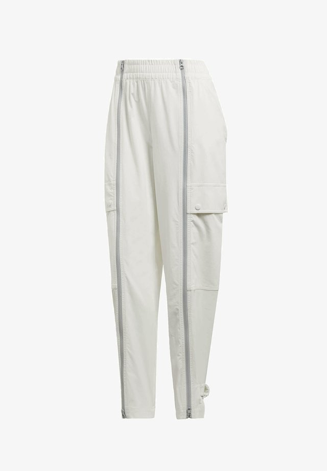 PERFORMANCE TRAINING SUIT PANTS - Kangashousut - white
