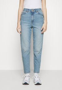 New Look - WAIST ENHANCE MOM BRENDEN - Relaxed fit jeans - light blue - 0
