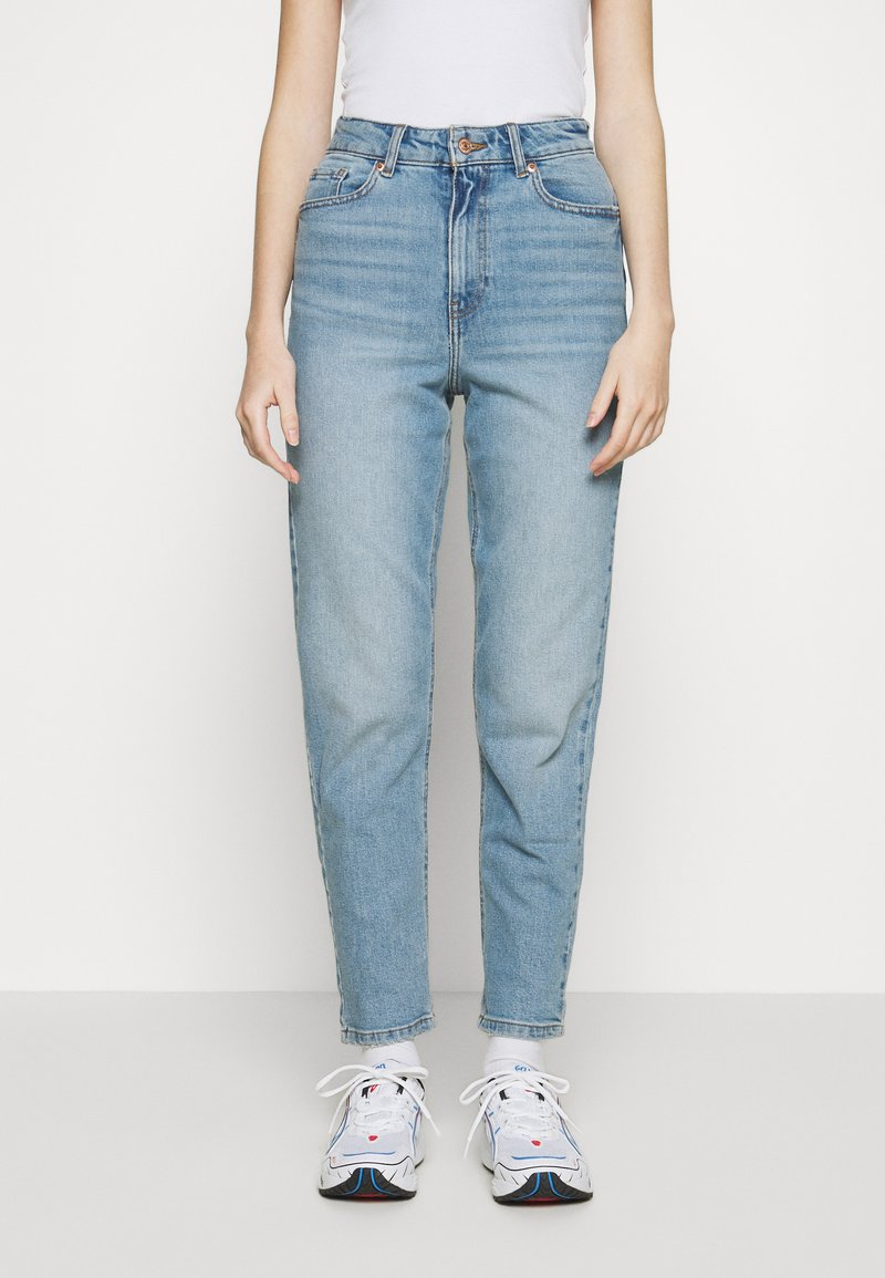 New Look - WAIST ENHANCE MOM BRENDEN - Relaxed fit jeans - light blue