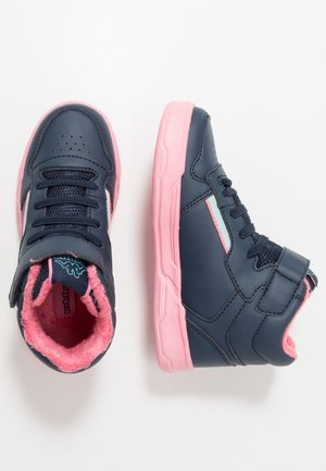 MANGAN II ICE - Sports shoes - navy/rosé