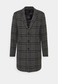 Jack & Jones PREMIUM - JPRBLAMOULDER CHECK - Classic coat - dark grey melange - 4