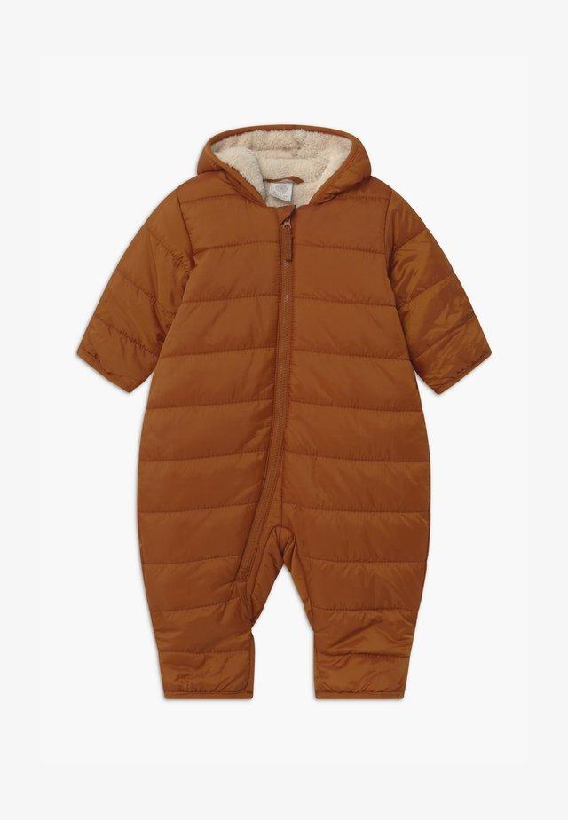 PADDED UNISEX - Snowsuit - brown