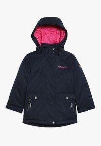 TrollKids - GIRLS OSLO COAT  - Winter coat - navy/magenta - 2
