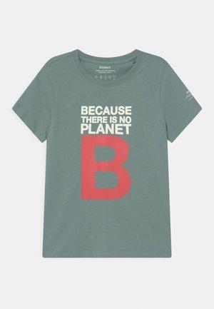 GREAT B - Print T-shirt - aqua green