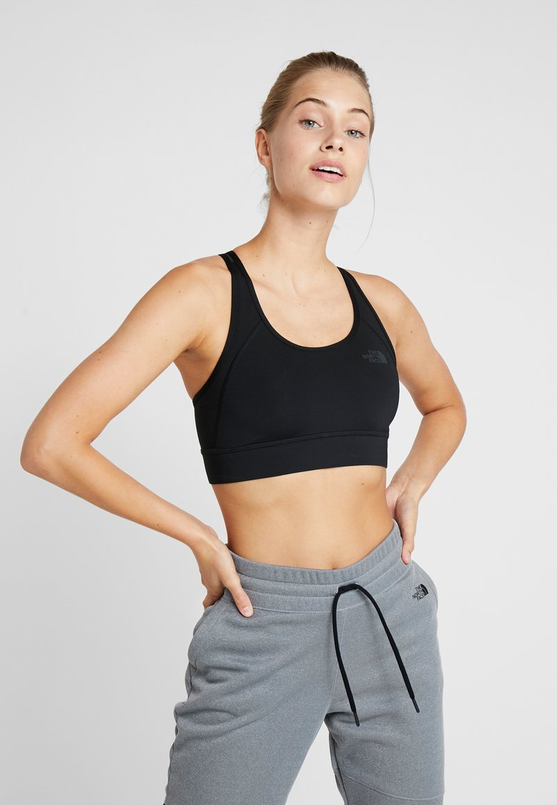 The North Face - BOUNCE BE GONE BRA - Medium support sports bra - black