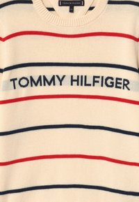 Tommy Hilfiger - STRIPE - Jumper - off-white - 3