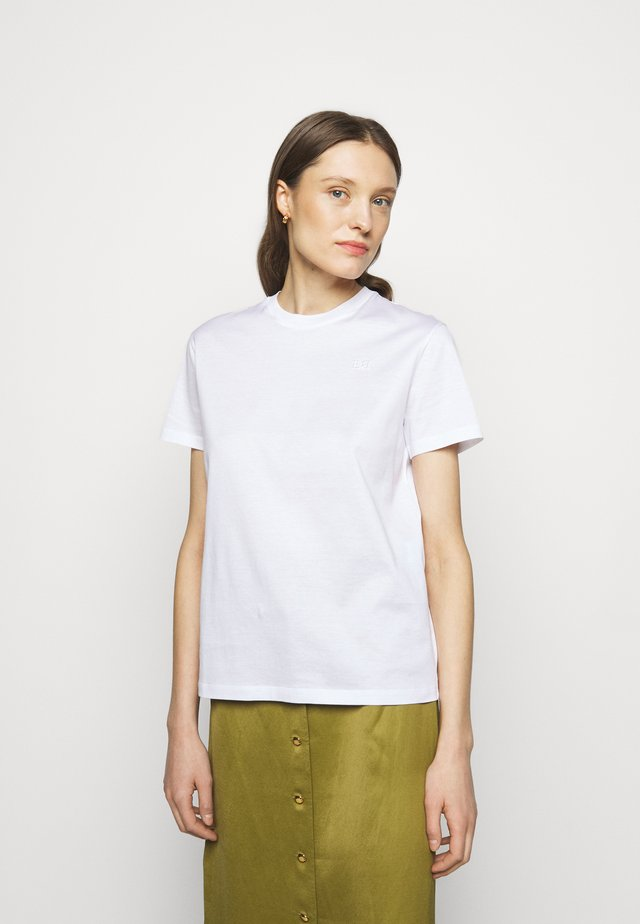 CLASSIC TEE - Jednoduché triko - white
