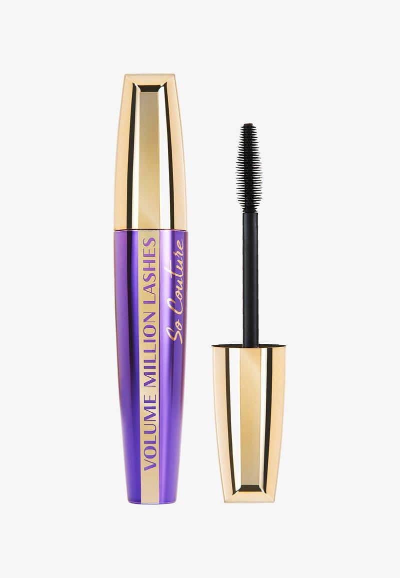 L'Oréal Paris - VOLUME MILLION LASHES - Mascara - so couture black