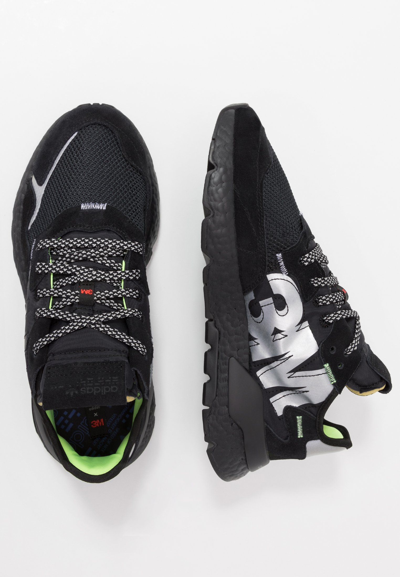 adidas Originals NITE JOGGER - Sneaker low - core black/schwarz - Herrenschuhe SlwXJ
