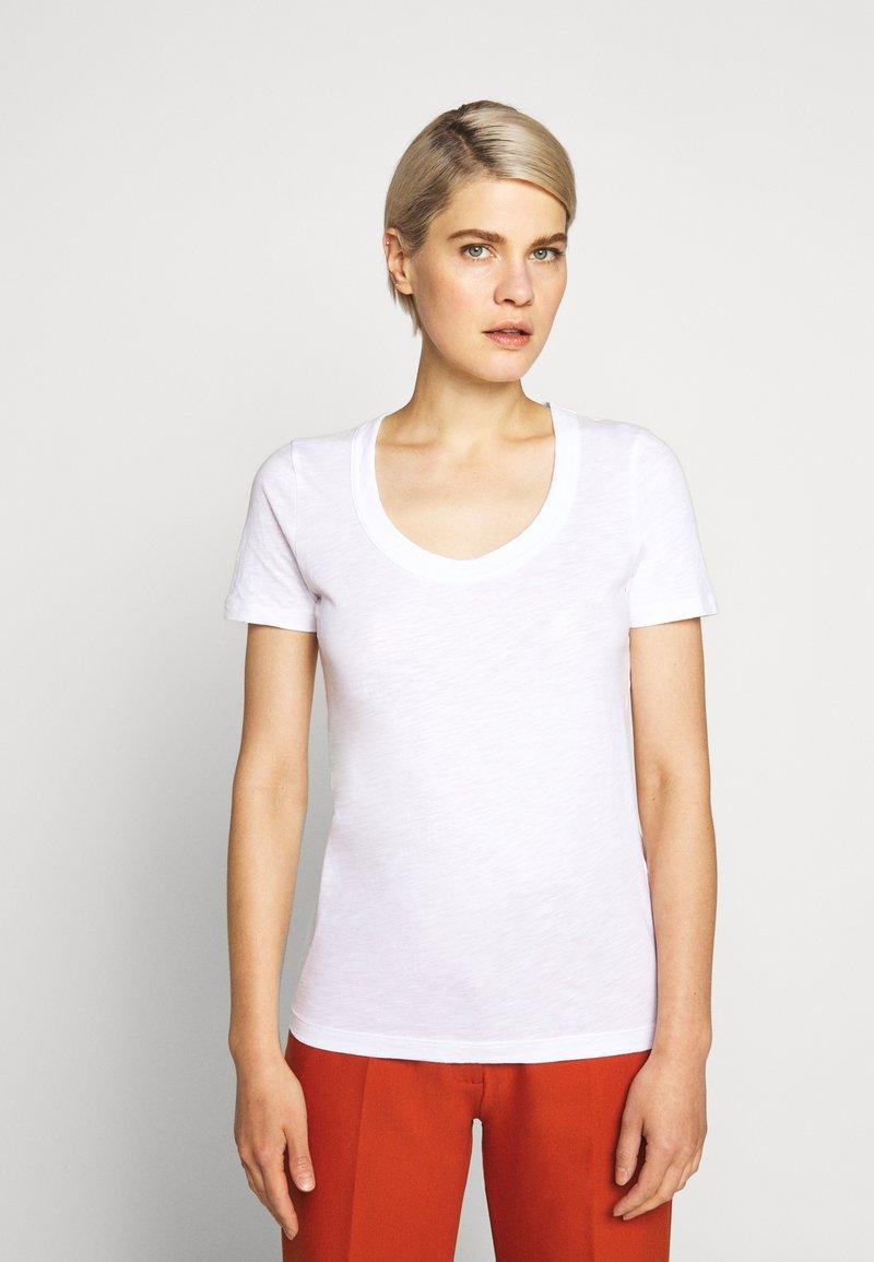 J.CREW - VINTAGE SCOOP - Basic T-shirt - white
