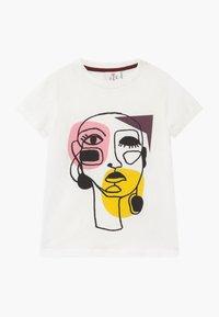 The New - RIGA TEE - T-shirts print - cloud dancer - 0