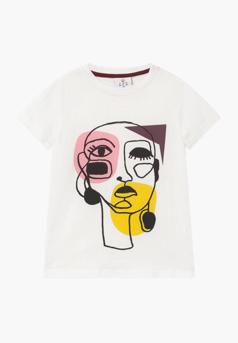 The New - RIGA TEE - T-shirts print - cloud dancer