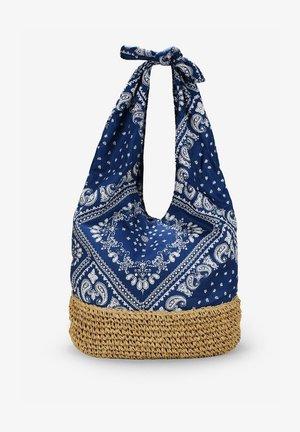 BANDANA - Bolso de mano - azul