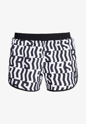 SHORT - Krótkie spodenki sportowe - white/black
