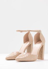 RAID Wide Fit - WIDE FIT MAHI - High heels - nude - 4