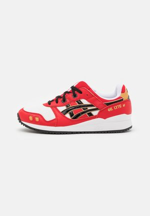 GEL-LYTE III OG UNISEX - Matalavartiset tennarit - classic red/black
