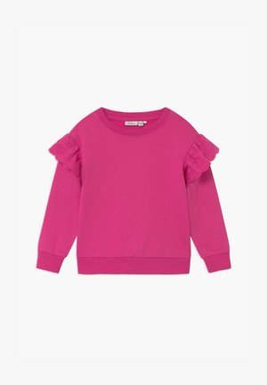 NMFOLISA LOOSE - Sweatshirt - very berry