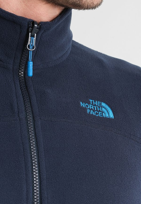 The North Face GLACIER FULL ZIP NEW - Kurtka z polaru - urban navy/granatowy Odzież Męska LSDV