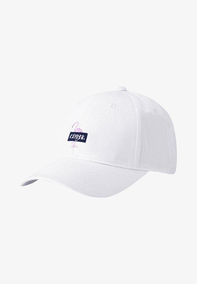 CAMINGO - Cap - white/mc