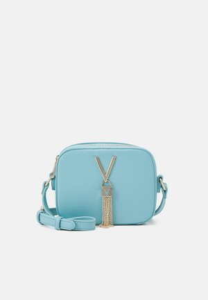 DIVINA - Across body bag - azzurro