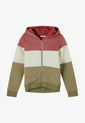 GLITZERND  - Zip-up hoodie - deep lichen green