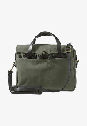 Briefcase - otter green