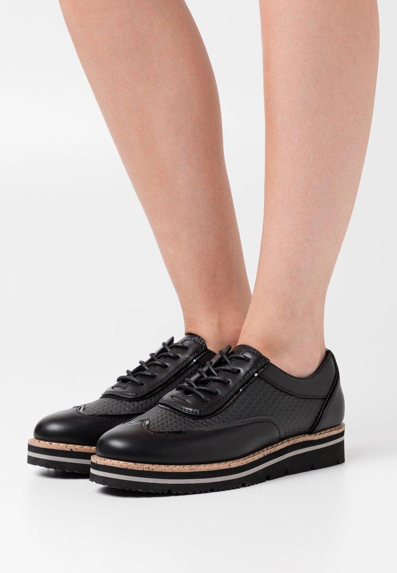 Anna Field - Šněrovací boty - black