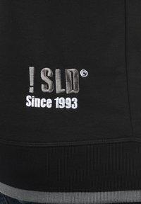 Solid - BenjaminZip Pile - Zip-up hoodie - black pil - 4