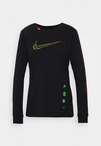 Nike Sportswear - TEE WORLDWIDE - Long sleeved top - black - 4