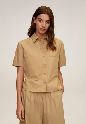 RICKY-H - Blouse - beige