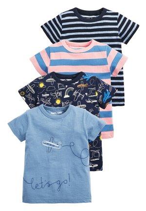 4 PACK PLANE T-SHIRTS - Print T-shirt - blue