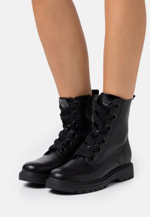 PARIS BOOTIE - Lace-up ankle boots - black