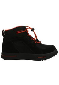 Timberland - CITY STOMP BUNGEE MID GTX - Lace-up ankle boots - jet black - 6