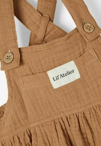 Lil' Atelier - Dungarees - tobacco brown - 2