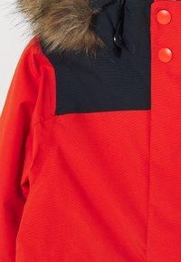 Didriksons - BJÖRNEN KIDS COVER - Snowsuit - poppy red - 4