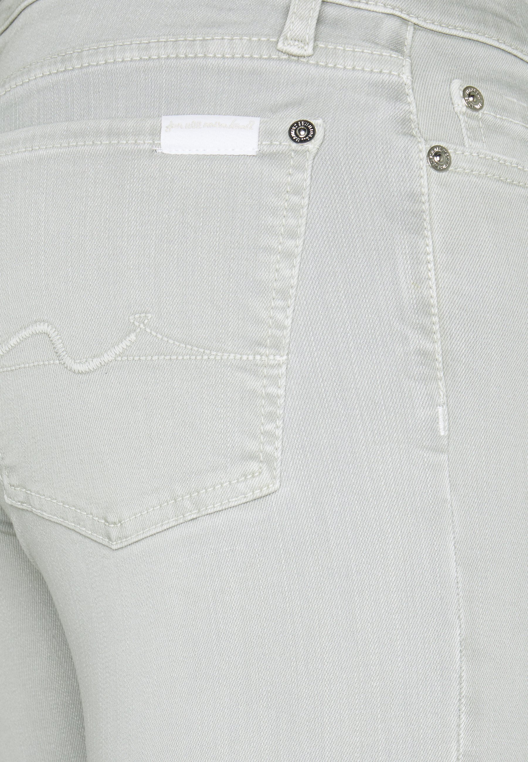 New Styles Women's Clothing 7 for all mankind THE CROP Jeans Skinny Fit pearl R5qwxYm3i