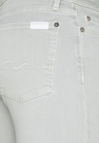 7 for all mankind - THE CROP - Jeans Skinny Fit - pearl