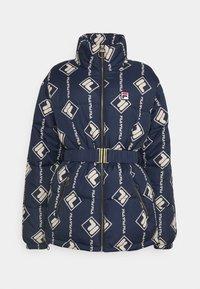 AVVENTURA PUFF JACKET  - Winter jacket - black iris/irish cream