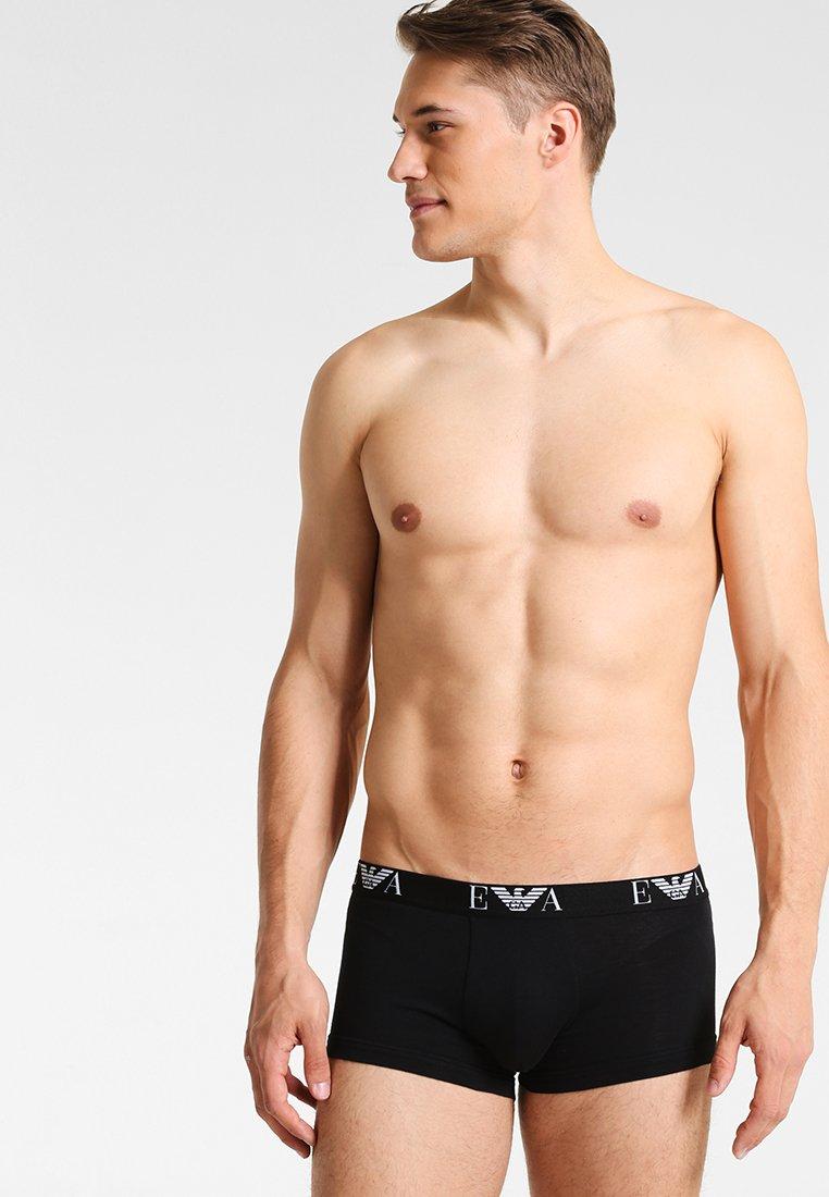 Emporio Armani - 2 PACK - Pants - black