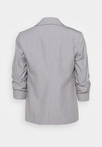 Dorothy Perkins Petite - ROUCHED SLEEVE - Blazer - dark grey - 7