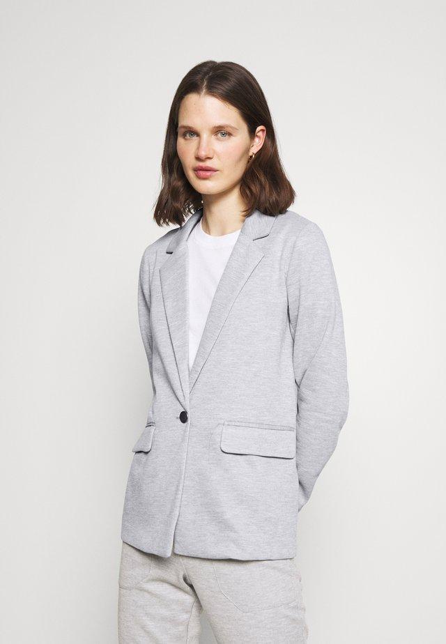 KARENAFA - Short coat - light grey melange