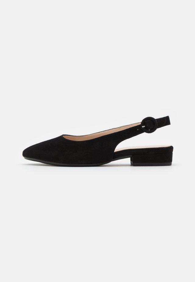 FASELLE - Slingback ballerina´s - schwarz
