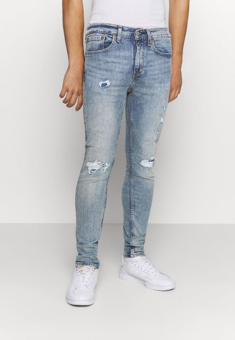Levi's® - 519™ SKINNY BALL - Jeansy Skinny Fit - light-blue denim