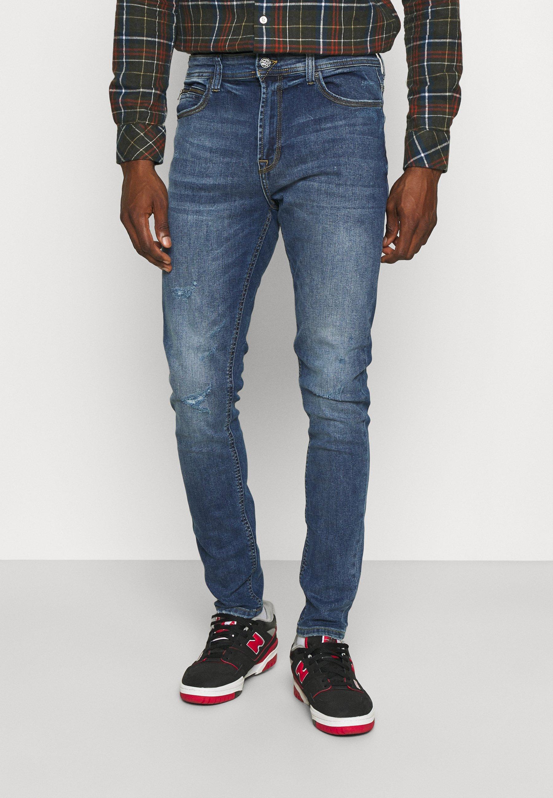 Uomo ONSDRAPER CARROT DAMAGE - Jeans slim fit