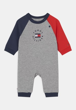 BABY HERITAGE LOGO COVERALL UNISEX - Jumpsuit - light grey heather