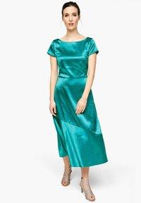 s.Oliver BLACK LABEL - JURK - Cocktail dress / Party dress - petrol - 0